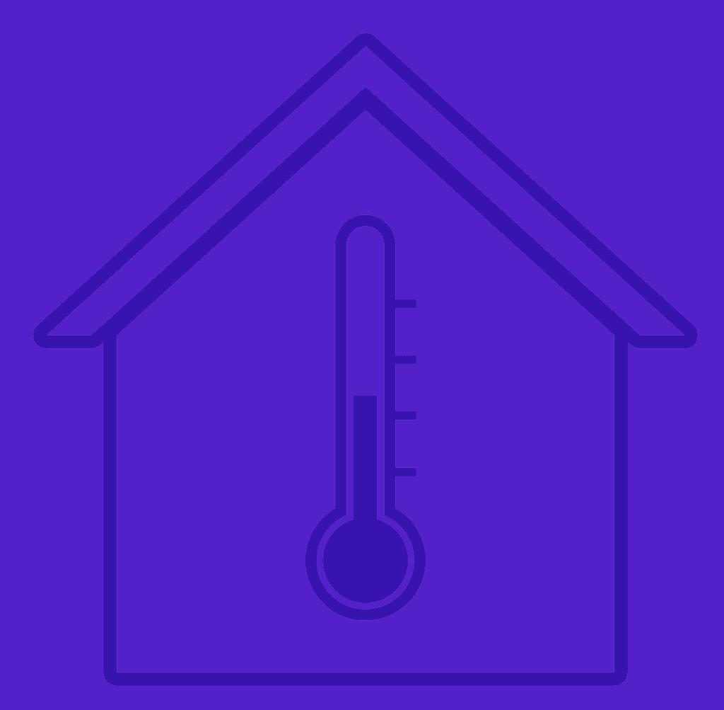 בית עם טמפרטורה רצויה